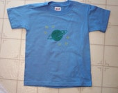 Glow in the dark Planet and Stars - T-shirt or creeper