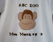 ABC Zoo Animals - creepers or t shirts