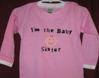 Big Brother/Sister, Lil Brother/Sister, Baby Brother/Sister T shirts and creepers