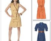 Custom made Trench Coat Dress sizes 8, 10, 12, 14, 16, 18w, 20w, 22w, and 24w