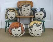 Pillow Cushion Girl Boy Children Baby Nursery Decor