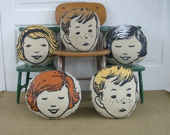 Pillow Cushion Girl Boy Children Baby Nursery Decor