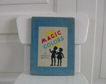 Vintage Child Book School Reader  Boy Girl Magic