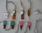 cute cell phone charms or zipper pulls