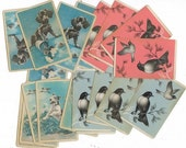 Vintage Playing Cards Reserved for Marielle