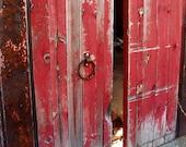 Red Door-5x7 Original Fine Art Photograph