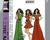 Vintage 70s McCalls 3541 Sewing Pattern