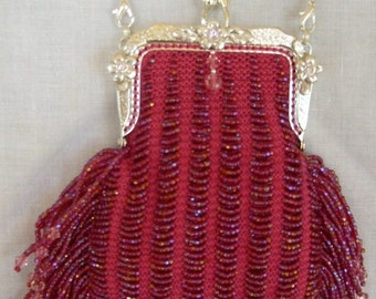 Take Me To The Prom - Bead Knitted Purse