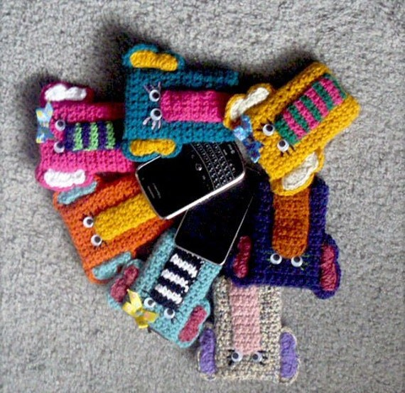 Crochet Elephant Gadget Cozy