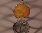 Eclipse-Original Hand Painted Pendant