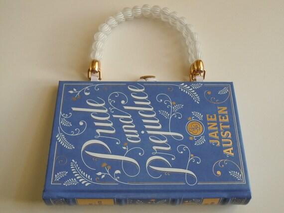 Pride and Prejudice Jane Austen  Book Purse