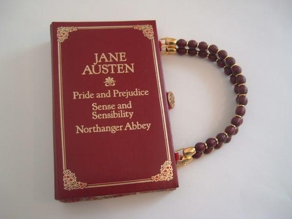 Jane Austen Book Purse