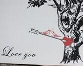 Love Birds- Valentine Card