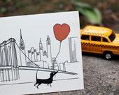Love on Brooklyn Bridge