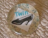 Twin Shoe Paperweight reserved for Scraptis15