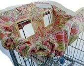 Sweet Citrus Travel Lite Shopping Cart  \/  Highchair Cover