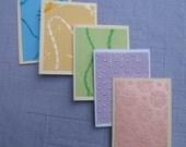 Set of 5 Mini Cards