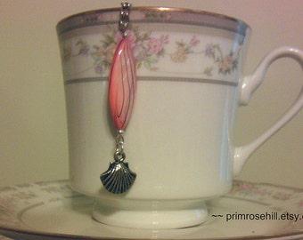 PINK SEA SHELL Tea Infuser Teaball for Summer