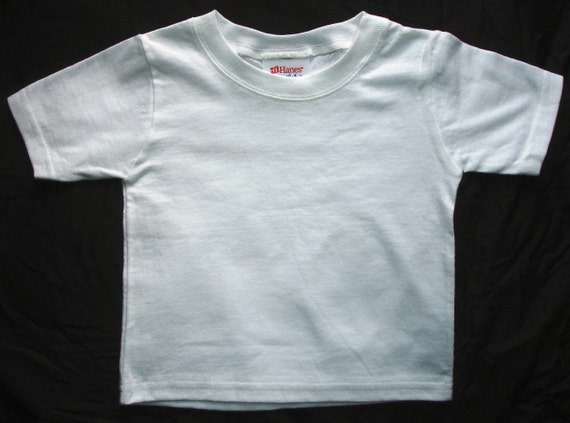 White plain blank t shirt ready to embroider or print for Plain t shirts to print on