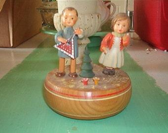 Vintage Anri Italy Thorens Movement Lara's Theme Made in Switzerland Music Box