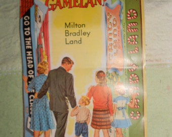 Vintage Milton Bradley Land Pamphlet Advertising Different Games Welcome to Gameland