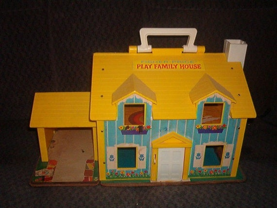 1969 Fisher Price Carry With You Little People By Midwestgirl