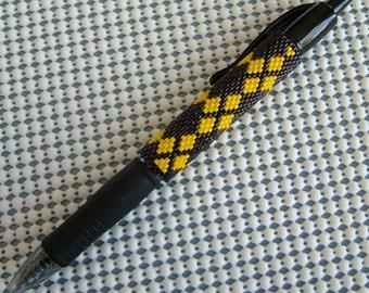 Just Brown n Gold G2 Pen Sleeve Pattern -PDF