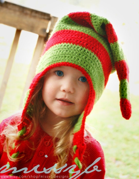 Crochet Hat Pattern Easy Crochet Christmas Hat Child Size