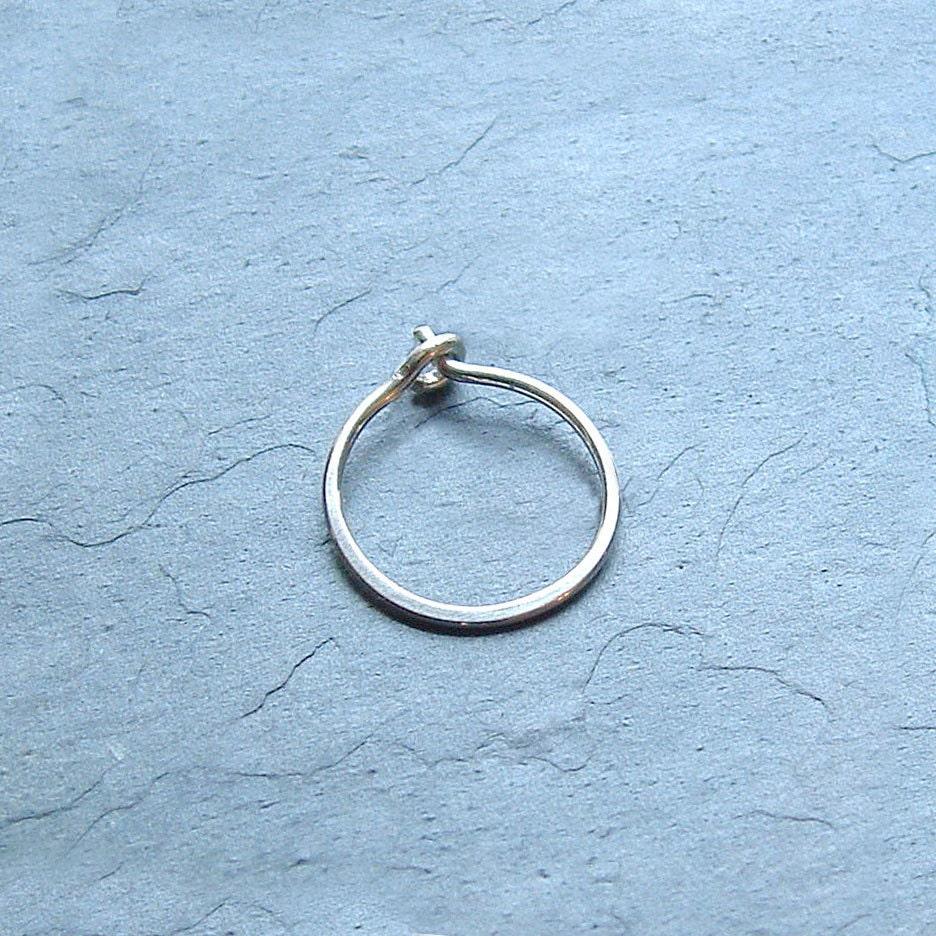 small silver hoop earring single minimalist jewelry simple. Black Bedroom Furniture Sets. Home Design Ideas