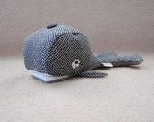 Handmade Wool Whale - ON SALE