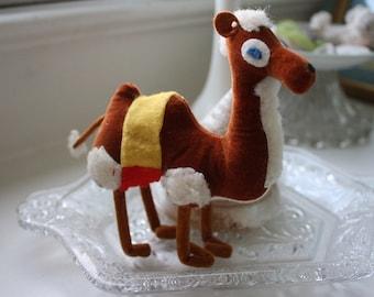 Vintage Plush Camel