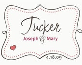 Personalized Monogram for Wedding, Bridal Shower, Invitations, Save the Date