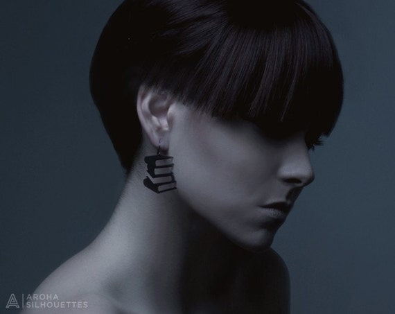 Hardcover Silhouette Earrings - SALE 50% OFF