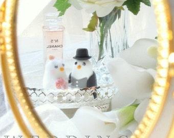 love birds wedding cake topper (K317)