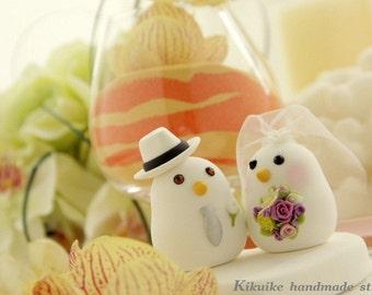 birds Wedding Cake Topper (K333)