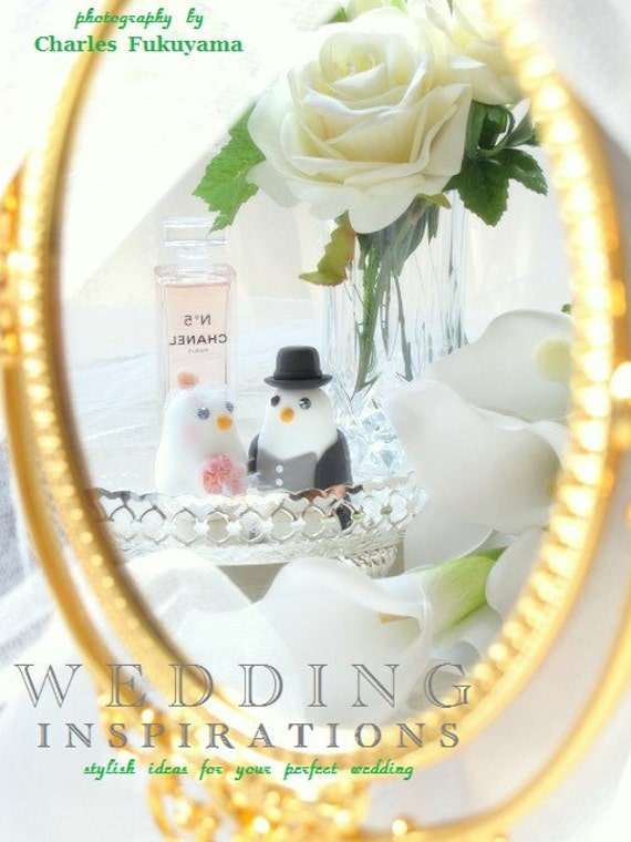 love birds wedding cake topper (K317)