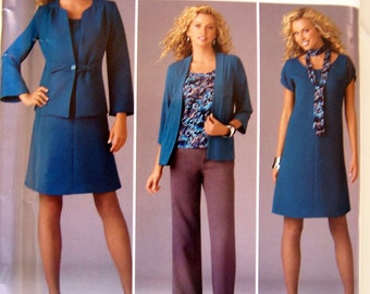 Misses/Womens Summer Dress or Top and Pants Pattern- NEW - Size AA (10-18)