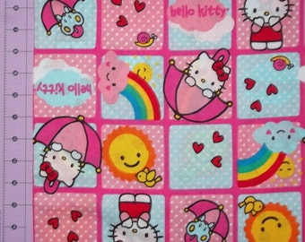 Hello Kitty Rainbow Block By The Yard FBTY
