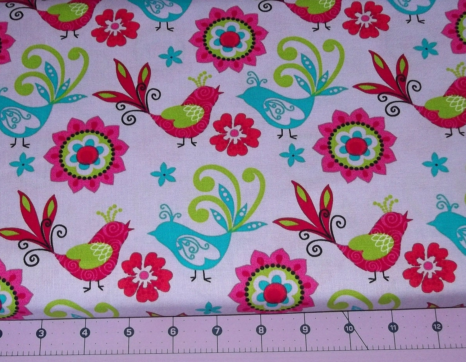 Love Birds Fabric By The Yard