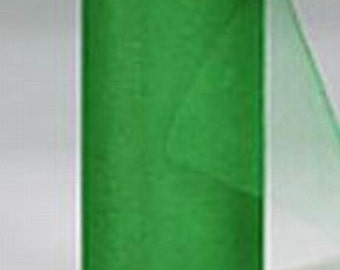 54 x 50 yd  Bolt of Top Quality Made In The USA Tulle Bolt -- KELLY GREEN