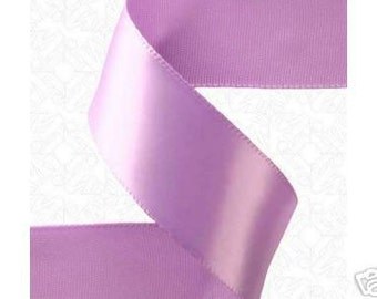 1-4 inch x 100 yds Single Face Satin Ribbon -- ORCHID/LAVENDER