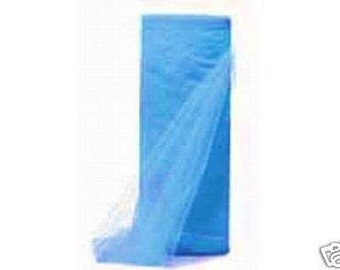 54 inch x 50 yds Top Quality (Made in the USA) Tulle Bolt TURQUOISE