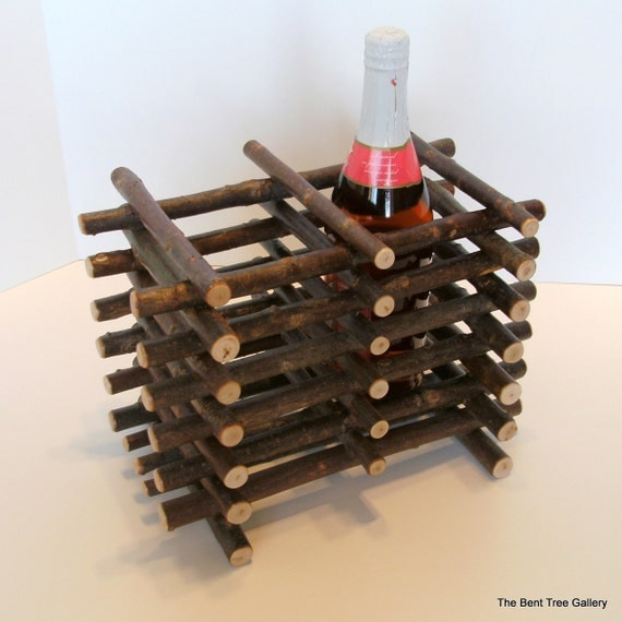 Twig Wine Cache for 2 Bottles