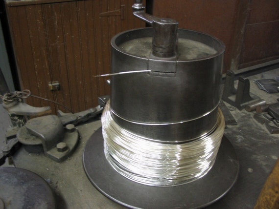 FREE SHIPPING 10 Ft 26G Sterling Silver Round Wire DS (1.16/Ft)