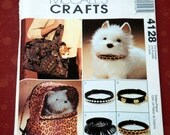Pattern Pet Accessories by McCalls Crafts 4128