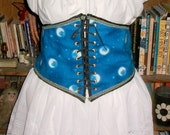 better blue moon corset gorgeous mystical look