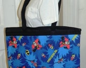 Tote Bag Made with Incredibles Fabric (not a licensed product)