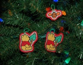 Winnie the Pooh Christmas Ornament Set (not a licensed product)
