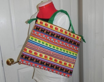 Tote Bage made from Monopoly fabric (not a licensed product)