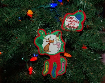 How The Grinch Stole Christmas Ornament Set (not a licensed product)